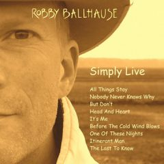 Robby Ballhause - Simply Live